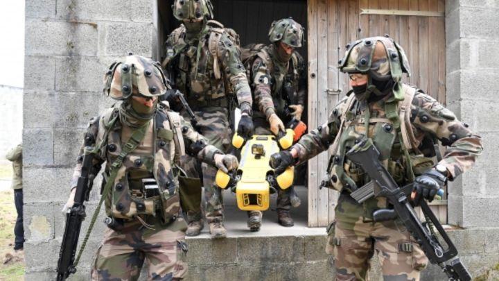 El ejército francés ya usa perros robot: Spot de Boston Dynamics